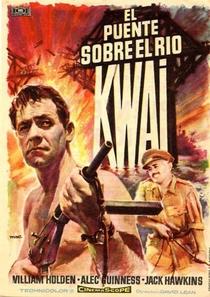 A Ponte do Rio Kwai - Poster / Capa / Cartaz - Oficial 8