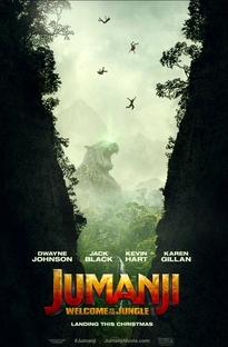 Jumanji: Bem-Vindo à Selva - Poster / Capa / Cartaz - Oficial 3