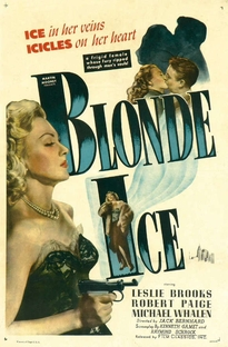Blonde Ice - Poster / Capa / Cartaz - Oficial 1