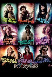 Rock of Ages: O Filme - Poster / Capa / Cartaz - Oficial 5
