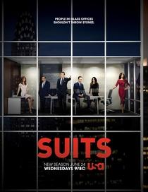 Suits (5ª Temporada) - Poster / Capa / Cartaz - Oficial 1