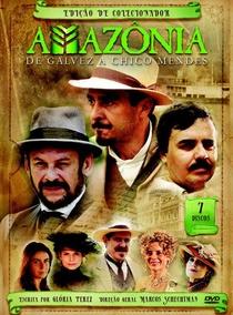 Amazônia - De Galvez a Chico Mendes - Poster / Capa / Cartaz - Oficial 1