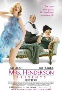 Sra. Henderson Apresenta - Poster / Capa / Cartaz - Oficial 3
