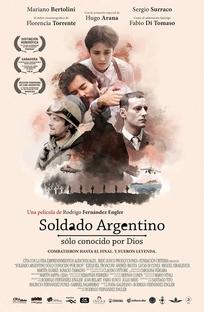 Soldado Argentino solo conocido por Dios - Poster / Capa / Cartaz - Oficial 1