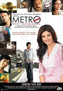 Life in a... Metro - Poster / Capa / Cartaz - Oficial 1