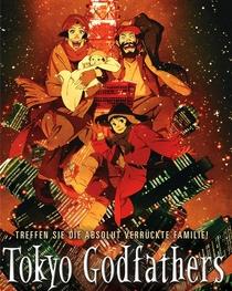 Tokyo Godfathers - Poster / Capa / Cartaz - Oficial 3