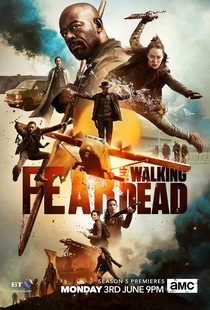 Fear the Walking Dead (5ª Temporada) - Poster / Capa / Cartaz - Oficial 2