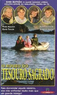 O Roubo do Tesouro Sagrado - Poster / Capa / Cartaz - Oficial 1