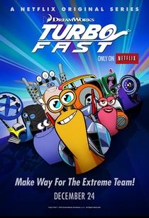 Turbo FAST (1ª Temporada) - Poster / Capa / Cartaz - Oficial 2
