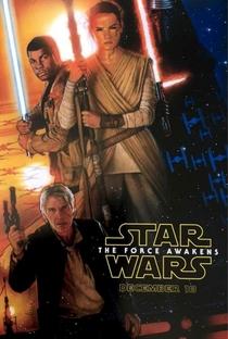 Star Wars, Episódio VII: O Despertar da Força - Poster / Capa / Cartaz - Oficial 2