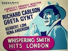 Enigma em Londres (Whispering Smith hits London)