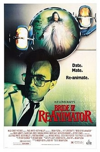 A Noiva de Re-Animator - Poster / Capa / Cartaz - Oficial 1