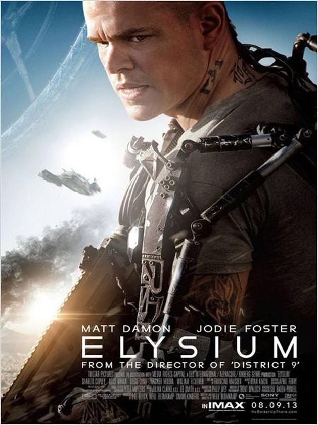 Elysium - Saindo do Cinema