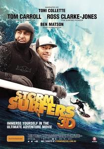 Storm Surfers 3D - Poster / Capa / Cartaz - Oficial 1