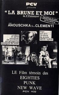 La brune et moi - Poster / Capa / Cartaz - Oficial 1