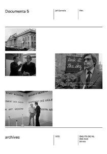 Documenta 5 - Poster / Capa / Cartaz - Oficial 1