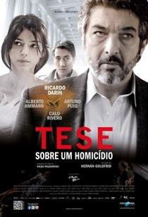 Tese Sobre um Homicídio - Poster / Capa / Cartaz - Oficial 4