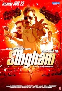 Singham - Poster / Capa / Cartaz - Oficial 6
