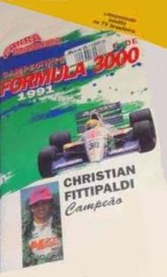 Garra Brasileira - Campeonato Europeu de Fórmula 3000 - Poster / Capa / Cartaz - Oficial 1