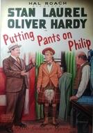 Pondo Calças Em Philip (Putting Pants on Philip)