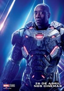 Vingadores: Guerra Infinita - Poster / Capa / Cartaz - Oficial 15