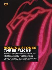 Rolling Stones - Three Flicks - Poster / Capa / Cartaz - Oficial 1