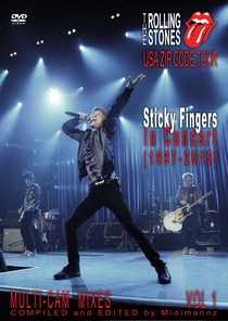 Rolling Stones - Sticky Fingers In Concert (1997 - 2015) - Poster / Capa / Cartaz - Oficial 1