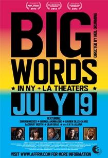 Big words - Poster / Capa / Cartaz - Oficial 1