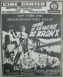 Os Guerreiros do Bronx - Poster / Capa / Cartaz - Oficial 3