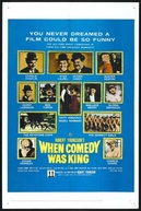 Os Reis da Comédia (When Comedy Was King)