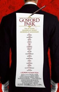 Assassinato em Gosford Park - Poster / Capa / Cartaz - Oficial 1