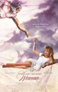 E Deus Criou a Mulher - Poster / Capa / Cartaz - Oficial 1