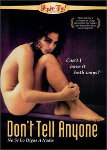 Não Conte a Ninguém - Poster / Capa / Cartaz - Oficial 2