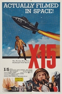 Avião Foguete X-15 - Poster / Capa / Cartaz - Oficial 1