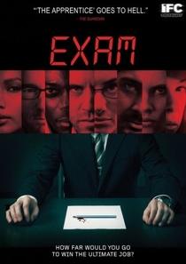 Exame - Poster / Capa / Cartaz - Oficial 2
