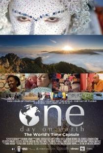 Um dia na Terra - Poster / Capa / Cartaz - Oficial 1