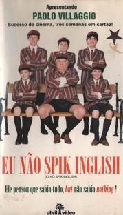 Eu Não Spik Inglish - Poster / Capa / Cartaz - Oficial 1