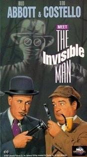 Abbott e Costello e o Homem Invisível - Poster / Capa / Cartaz - Oficial 2
