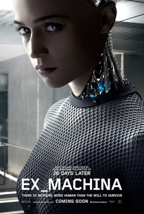 Ex Machina: Instinto Artificial - Poster / Capa / Cartaz - Oficial 3