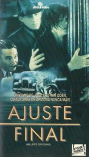 Ajuste Final - Poster / Capa / Cartaz - Oficial 4
