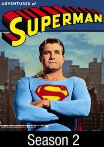 As Aventuras do Super-Homem (2ª Temporada) - Poster / Capa / Cartaz - Oficial 1