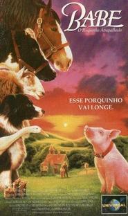 Babe - O Porquinho Atrapalhado - Poster / Capa / Cartaz - Oficial 2