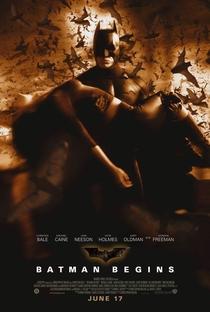 Batman Begins - Poster / Capa / Cartaz - Oficial 7