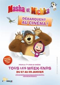 Masha e o Urso - O Filme - Poster / Capa / Cartaz - Oficial 1