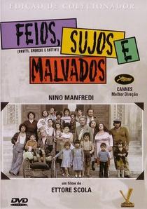 Feios, Sujos e Malvados - Poster / Capa / Cartaz - Oficial 10