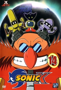 Sonic X (2ª Temporada) - Poster / Capa / Cartaz - Oficial 6