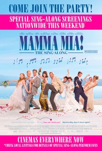 Mamma Mia! O Filme - Poster / Capa / Cartaz - Oficial 2