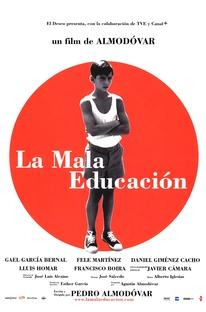 Má Educação - Poster / Capa / Cartaz - Oficial 1