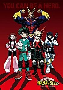 Boku no Hero Academia (1ª Temporada) - Poster / Capa / Cartaz - Oficial 3