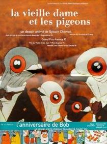 A Velha Senhora e os Pombos - Poster / Capa / Cartaz - Oficial 3